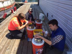 Filtering on dock