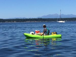 Kayak sampling