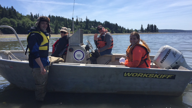 Hunting Bivalve Larvae: A Field Report
