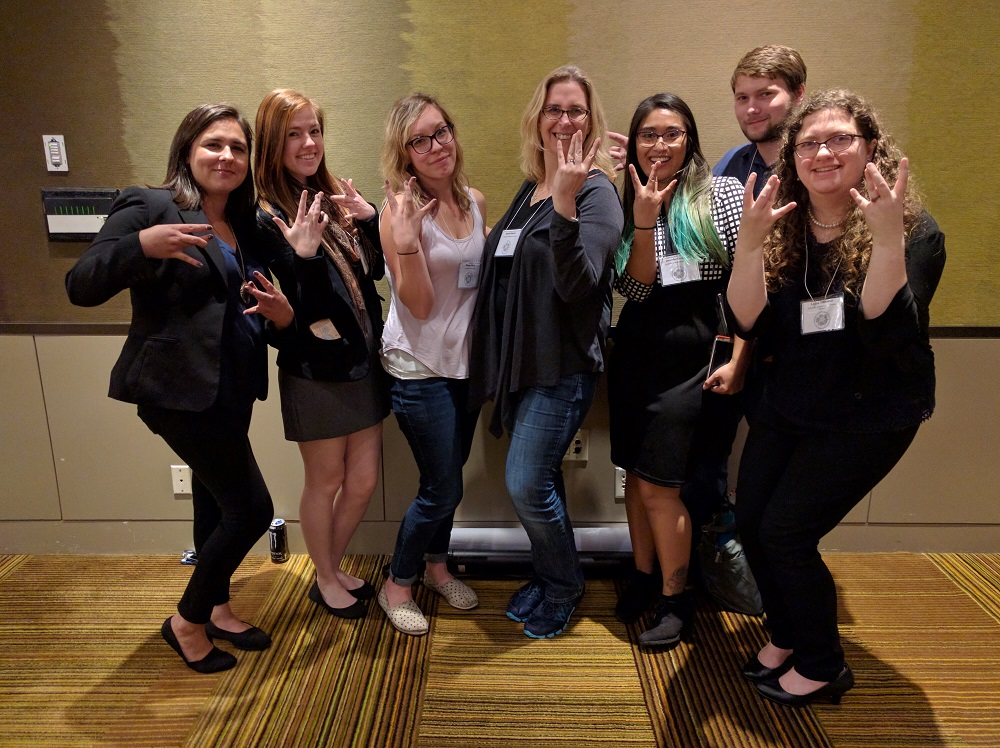 Becker Lab Does the 2016 WSN Conference!