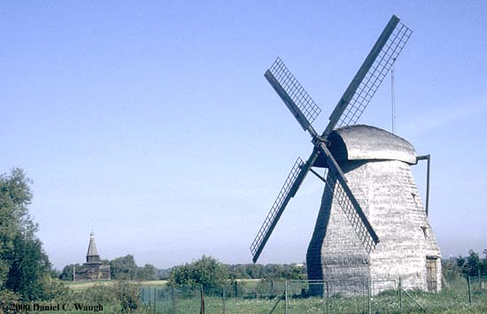 Novgorod, windmill (Photo)