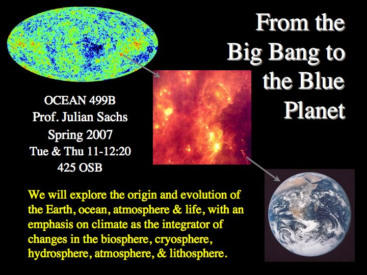 big bang planet
