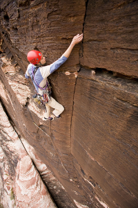 Climbing Red Rocks