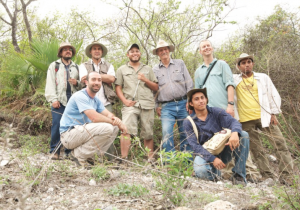 The 2012 field team in Mexico. Wade Sherbrook in center.