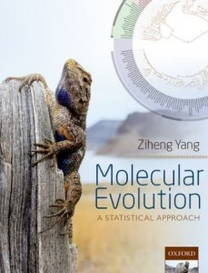 Ziheng Yang's new book with Charles Linkem's cover photo.