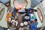 Prep Tent