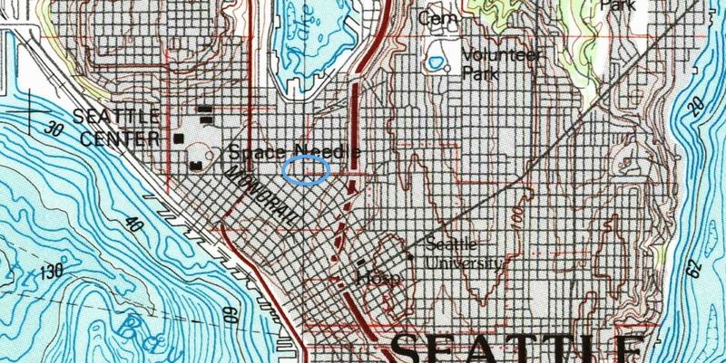 Topographical Past and Present of South Lake Union Block 05