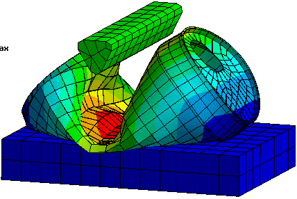 Finite element analysis for Finite element methode
