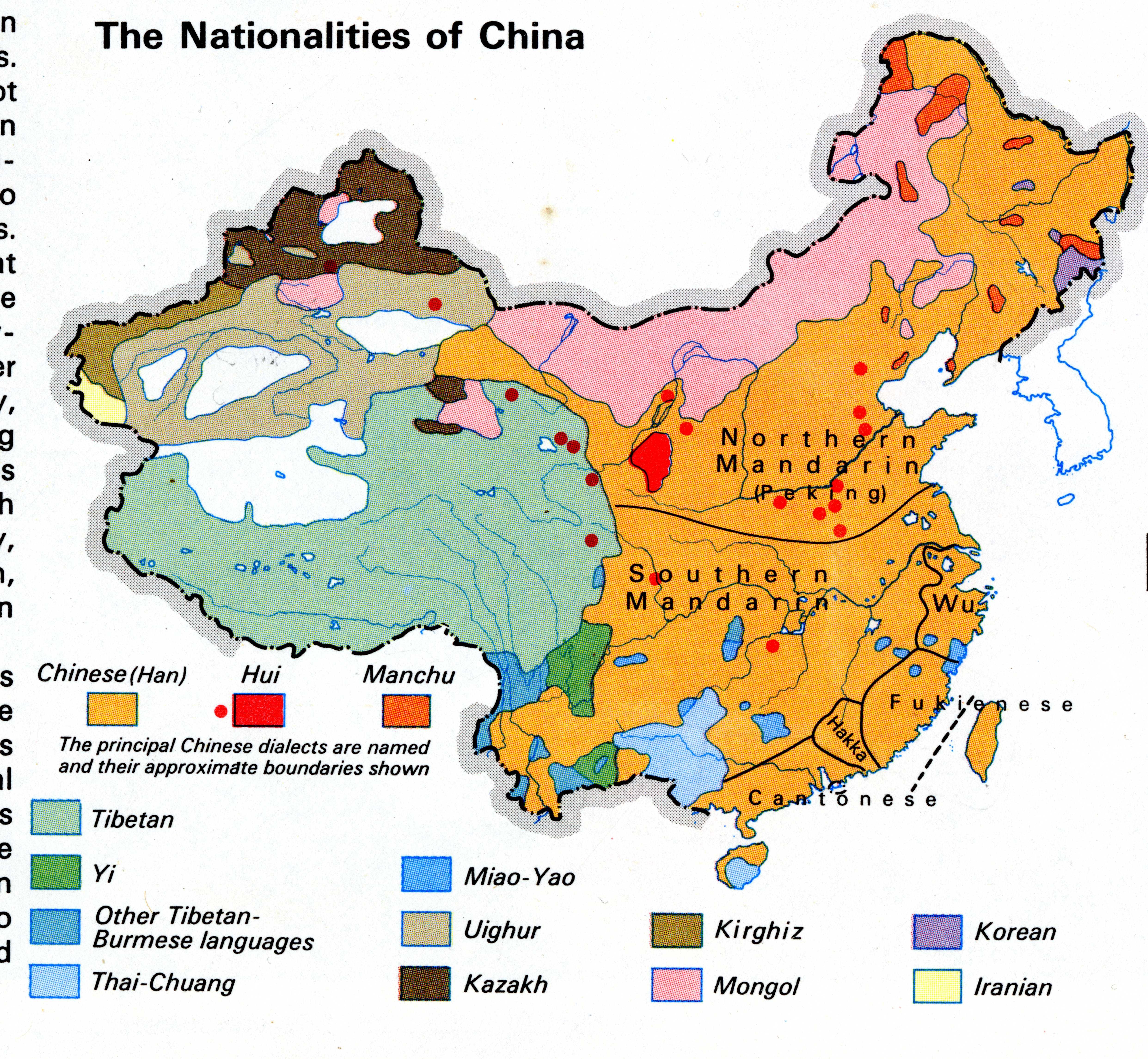Maps - Asia language map