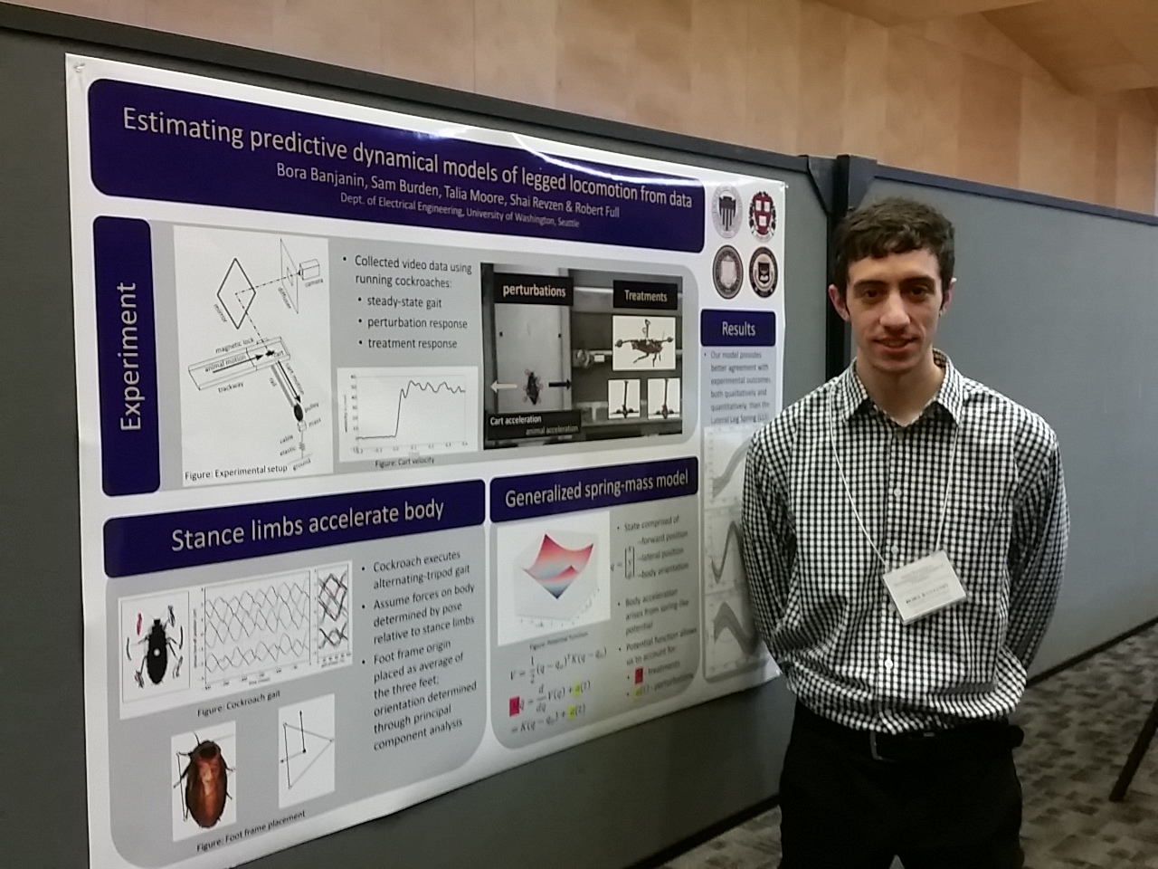Bora at NSF Neuromechanics RCN 2016