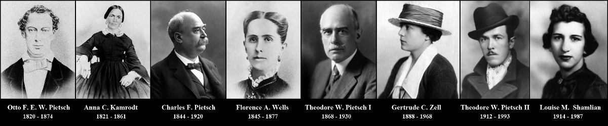 Theodore W. Pietsch: Genealogies Theodore Pietsch