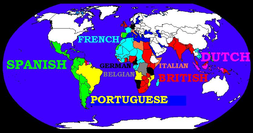 colonial formation of the third world