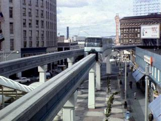 Monorail Straddle Beam Elevated Electric Seattle